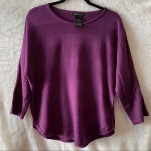 Design History Dolman Quarter Sleeve Sweater Top